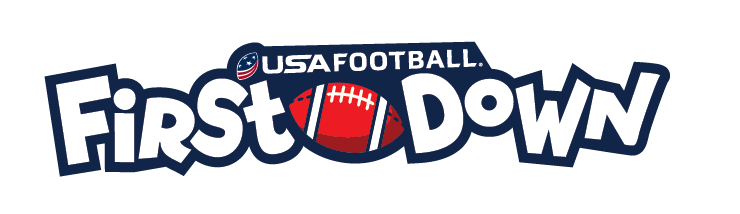USA Football 1st down logo